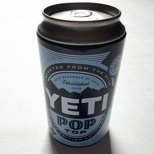 HTF YETI Pop stash Can 2006